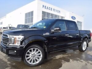 2018 Ford F-150 Limited 4x4 SuperCrew Cab Styleside 5.5 ft. box