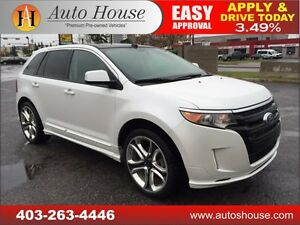 2011 FORD EDGE SPORT NAVI PANOR ROOF B CAM 90 DAYS NO PAYMENT