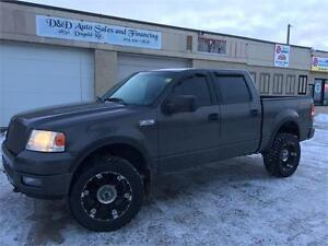 2004 FORD F-150 FX4-4X4-SUNROOF-LEATHER-LOADED
