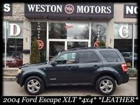 2008 Ford Escape XLT* 4x4* V6* SUNROOF* LEATHER