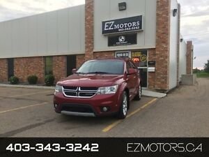 2011 Dodge Journey R/T=LOADED=BACK UP CAM AND BLUETOOTH=AWD