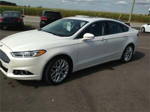 2013 Ford Fusion Titanium LOADED MINT 88KM!!