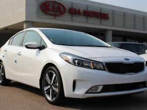 2017 Kia Forte SX, LEATHER, HEATED SEATS/WHEEL, NAVI, LDWS, ACC,