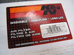 K&N Air Filter for 2002 Mercedes-Benz C230 supercharge engine