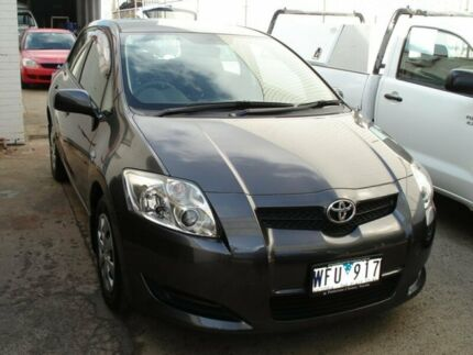 2008 Toyota Corolla ZRE152R Ascent Grey 4 Speed Automatic Hatchback Tottenham Maribyrnong Area Preview