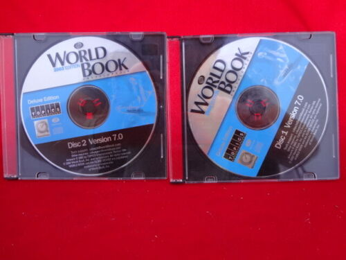 World Book Encyclopedia 2003 Deluxe Edition. 2 CD-ROMs by Topics Entertainment