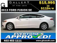 2013 FORD FUSION SE **EVERYONE APPROVED** $0 DOWN $119/BW!