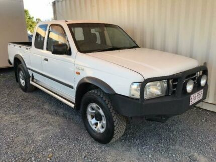 2004 Ford Courier PH XL White Manual Utility Helensvale Gold Coast North Preview
