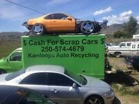 $$ Cash for all scrap vehicles junk car removal up to $500