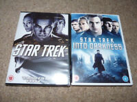 2 x STAR TREK DVD Films, STAR TREK (new and sealed) and STAR TREK INTO DARKNESS