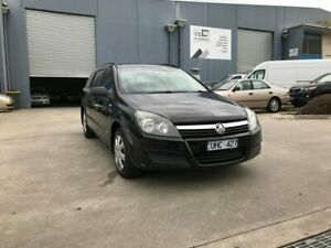 2006 Holden Astra AH MY06 CD Black 4 Speed Automatic Wagon Newport Hobsons Bay Area Preview