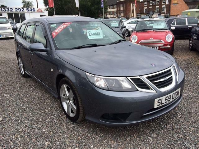2009 SAAB 9 3 1.9 TTiD 180 Turbo Edition DIESEL SPORT WAGON SPECIAL EDITION