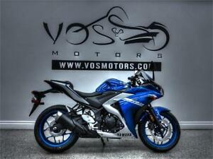 2017 Yamaha YZF R3-Stock#V2784NP- **Free Delivery in the GTA