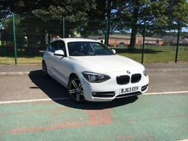 BMW 116D 2.0 SPORT 3 DOOR 2013 63 PLATE WITH ONLY 42K MILES, FULL BMW HISTORY