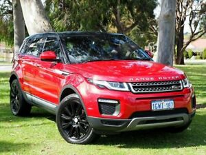 2016 Land Rover Range Rover Evoque L538 MY16.5 TD4 180 HSE Red 9 Speed Sports Automatic Wagon Myaree Melville Area Preview
