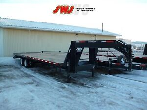 30' G/N with 2-15,000lb axles