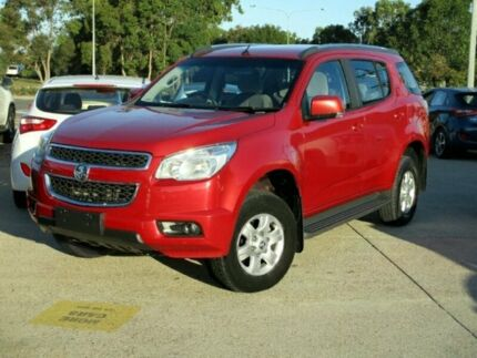 2015 Holden Colorado 7 RG MY16 LT Red 6 Speed Sports Automatic Wagon