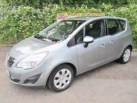Vauxhall Meriva 1.4 Exclusiv 16V 5DR Turbo (silver) 2013