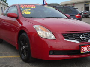 2009 NISSAN ALTIMA COUPE E-TESTED, CERTIFIED & WARRANTY