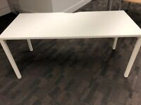 2 White Tables (Different Styles) for sale in Manchester City Centre