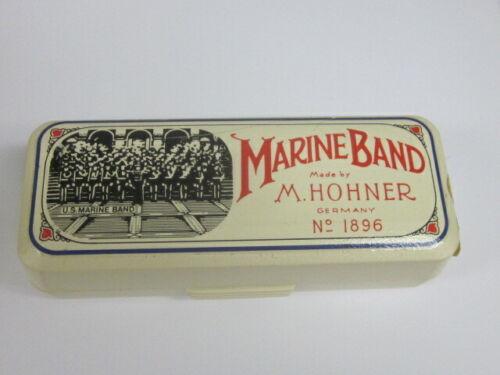 Hohner Marine Band #1896 harmonica-in case,new