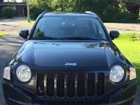 FULLY LOADED 2010 Black Jeep Compass Limited SUV 4x4