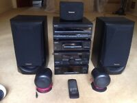 'Technics'SC-CH570 surround sound system music centre,