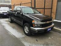 2004 Chevrolet Colorado 4 CYLINDER/EXTENDED CAB/CERTIFIED