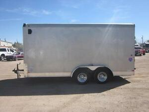 2011 Interstate Load Runner 7X16 Pro Series Enclosed Cargo Trail