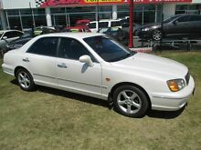 1999 Hyundai Grandeur  White 5 Speed Sports Automatic Sedan Kippa-ring Redcliffe Area Preview