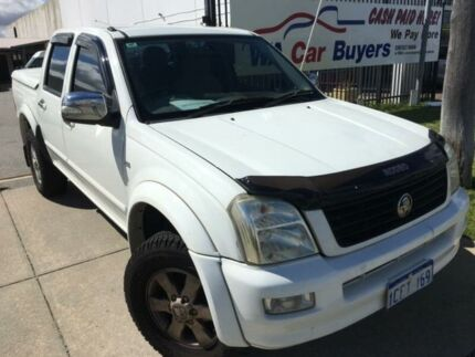 2006 Holden Rodeo RA LX White Automatic Dual Cab