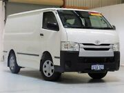 2015 Toyota Hiace TRH201R LWB White 6 Speed Automatic Van Bibra Lake Cockburn Area Preview