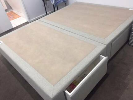 TEMPUR Queen Bed Base with Storage/Ensemble