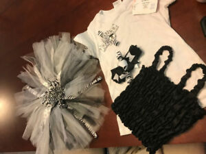 BRAND NEW ADORABLE TUTU DRESS....WITH FREE HEAD BANDS!!