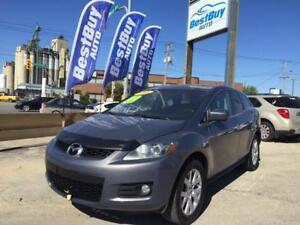 2008 Mazda CX-7 GT/AWD/Moon/Leather/WE FINANCE 2% interest