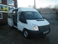 Ford TRANSIT 125 T300 FWD SHUTTLE MWB MR 9 SEAT