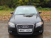 AUDI A4 2.0 TDI QUATTRO SE 4d 170 BHP (black) 2007
