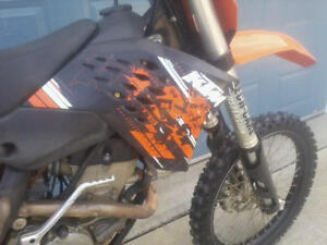 250sxf ktm with ownership