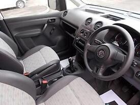 Volkswagen Caddy 1.6 TDI 75PS DIESEL MANUAL WHITE (2013)