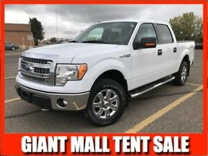 2013 Ford F-150 XLT Supercrew 4x4 **ULTRA LOW KMS!!**
