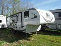 2012 Koala Super Lite 27RBH 5th Wheel Trailer with Bunks & Slide