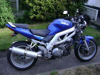 Suzuki SV1000 K3, V twin, 04, 24K, Streetfighter, Naked bike, Can deliver.