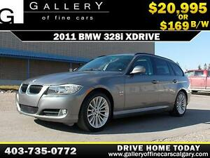 2011 BMW 328i xDrive Wagon $169 bi-weekly APPLY NOW DRIVE NOW