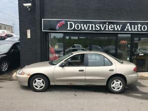 2004 Chevrolet Cavalier AUTOMATIC!!! A/C!!! LOW KM!!!