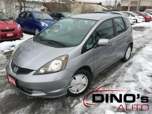 2010 Honda Fit LX | $66 Weekly $0 Down *OAC / Automatic / No Acc