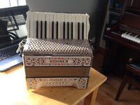Horner Student III accordian (used)