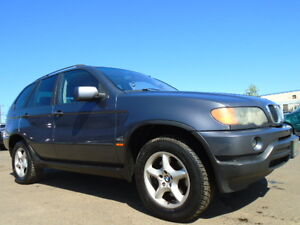 2002 BMW X5 3.0i SPORT  PKG-NAVI--LEATHER-SUNROOF-AWD--