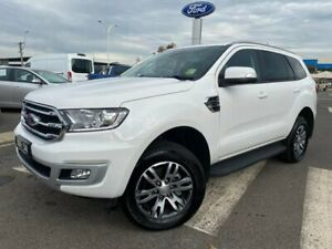2019 Ford Everest UA II 2019.75MY Trend 4WD White 10 Speed Sports Automatic Wagon Kilmore Mitchell Area Preview