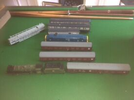 Hornby model trains and tracks