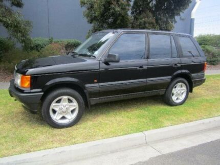 1998 Land Rover Range Rover HSE Black 4 Speed Automatic Wagon Hampton East Bayside Area Preview